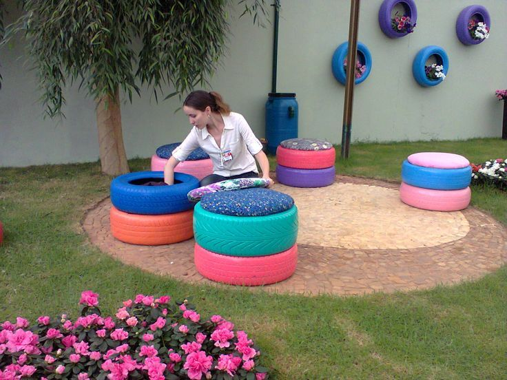 Decora tu jard n con material reciclado c mo comprar casa en m rida for Articulos para decorar jardines